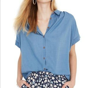 Madewell Central Shirt in chambray
